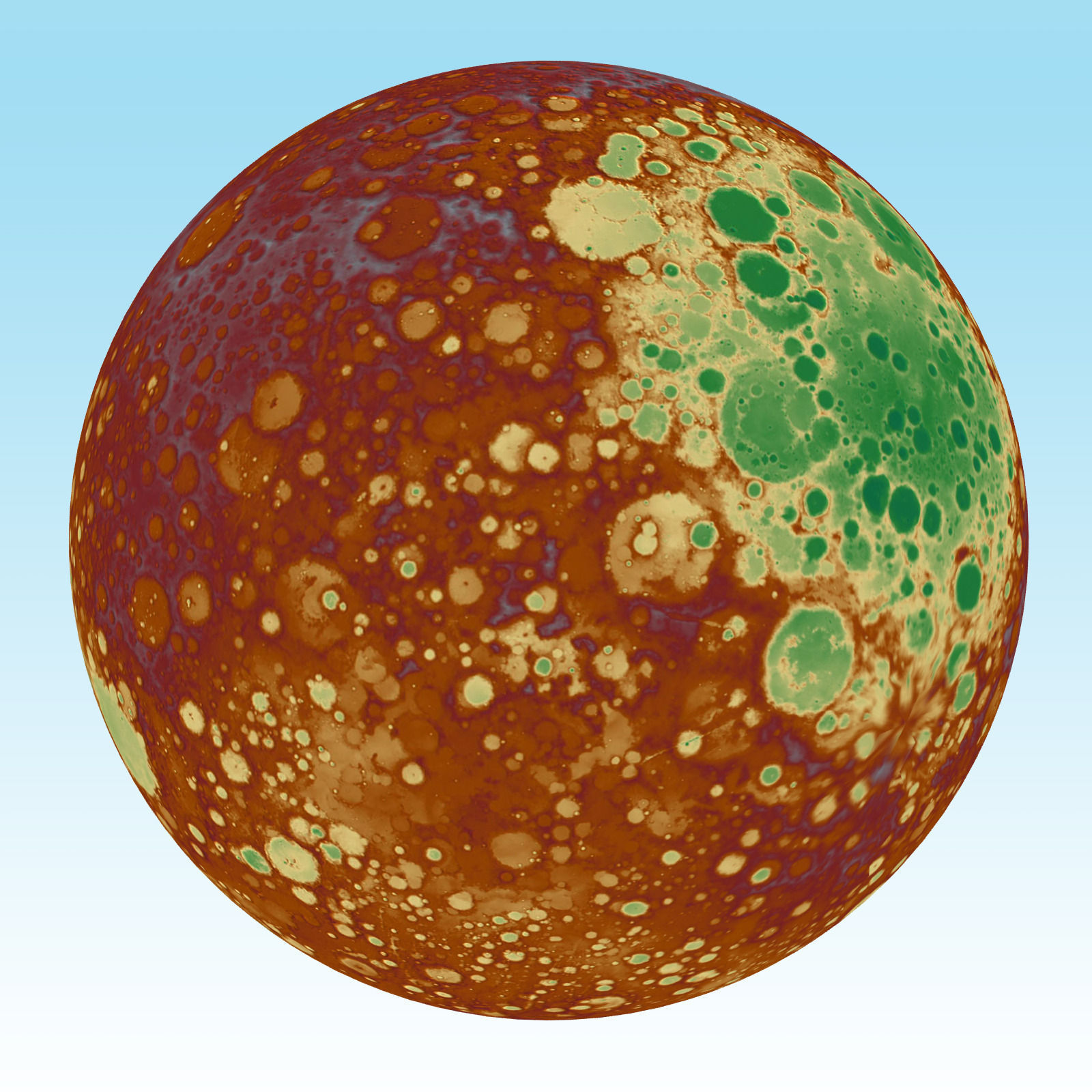 model of planet mars - photo #27