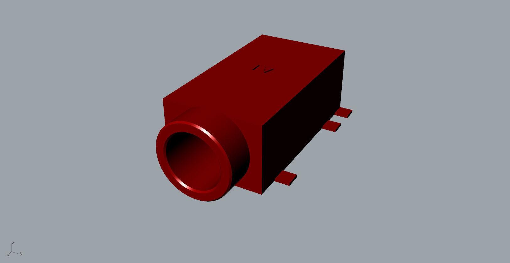 ear jack 3D Model