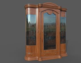 Cupboard classic old 3D model