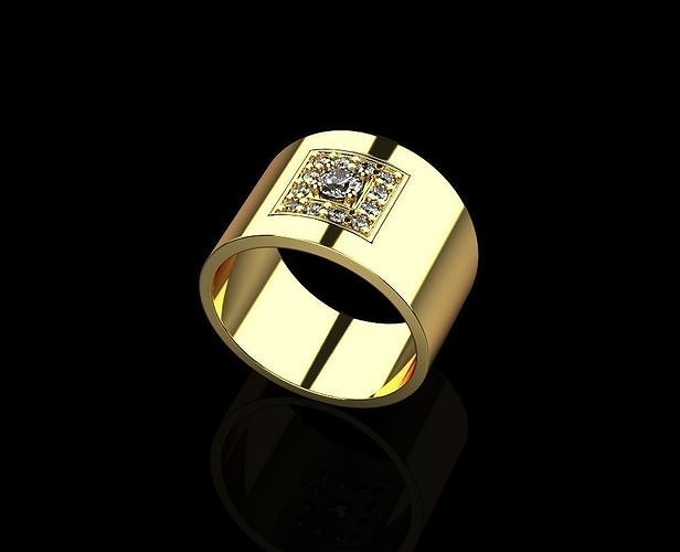 ring 1757 3d model obj mtl stl 3dm amf 1