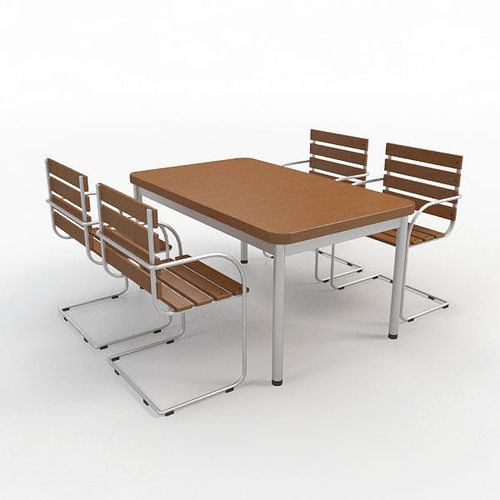 3d model outdoor furniture 4 cgtrader for Outdoor furniture 3d max