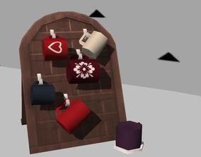 3D asset Decor itens