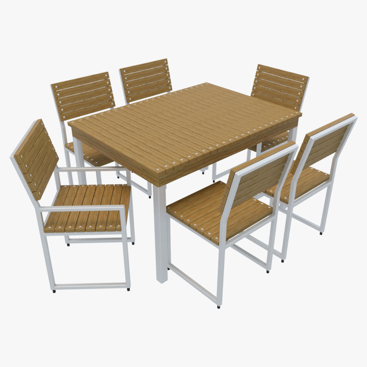 Outdoor Furniture 2 Model