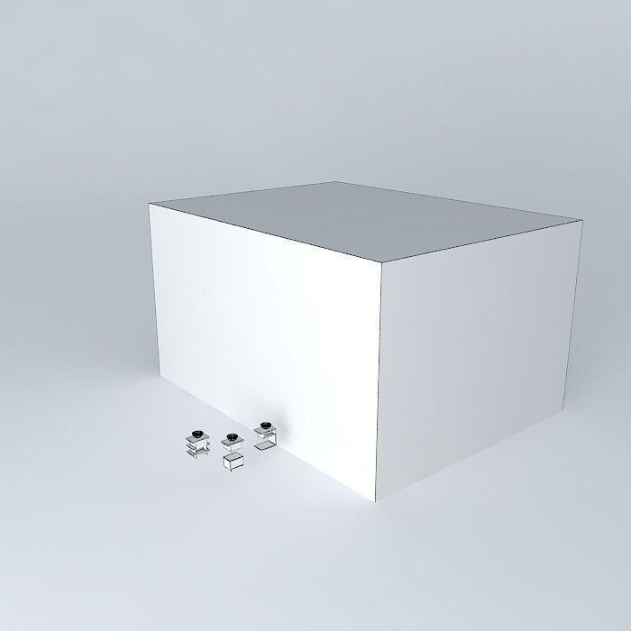 Bathroom Cabinet Free 3d Model Max Obj 3ds Fbx Stl Dae