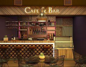 3D model Bar Cafe