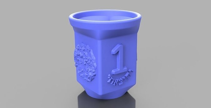 photo relating to Children's Passover Seder Printable titled Mounted of 4 cups for little ones for the Pover seder night time 3D Print Design