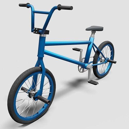 BMX Bike - Blue
