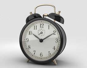 3D model time mechanical Alarm Clock