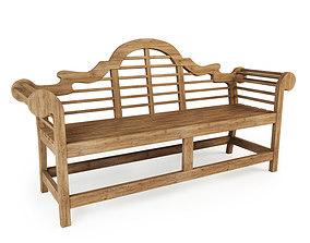 furniture Lutyens Bench RH 3D model