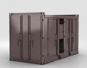 Diesel Compressor Unit 3D