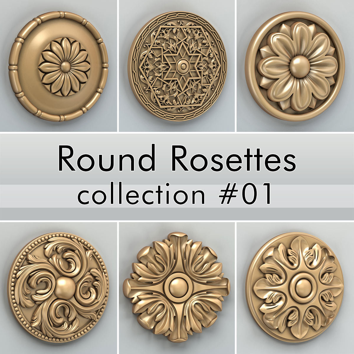 Round Rosettes collection 01