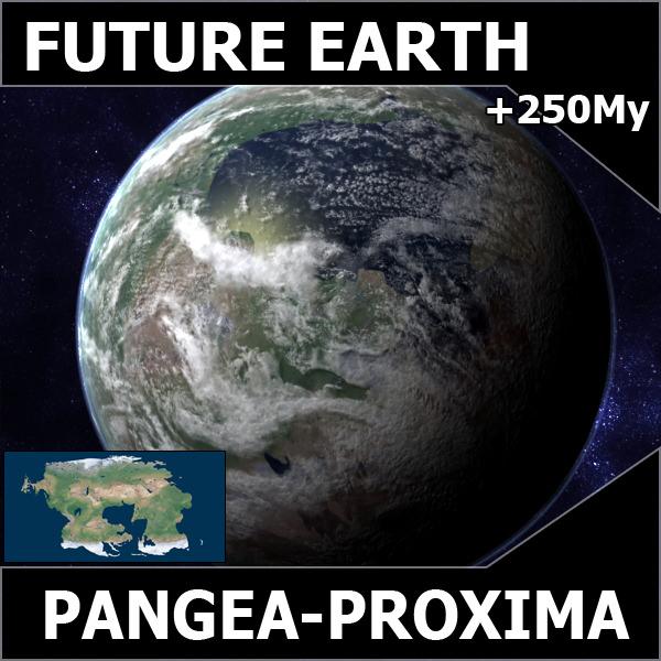 Future earth pangea proxima 3d models cgtrader com