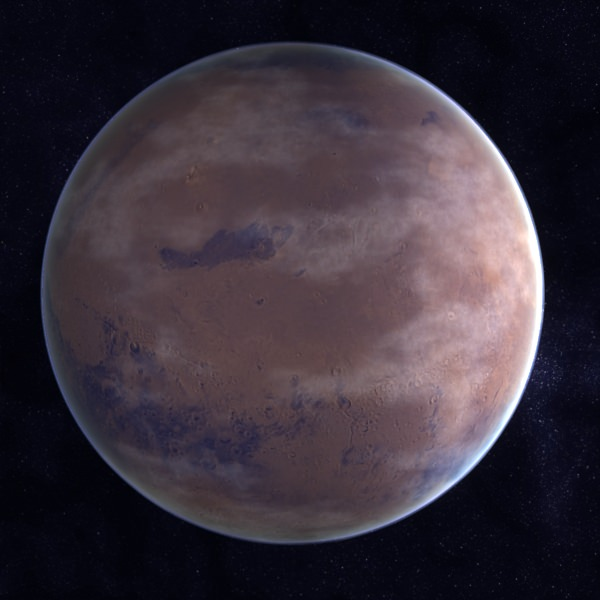3D Styrofoam Planet of Mars - Pics about space