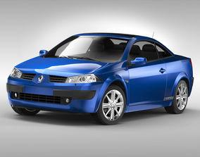 Renault Megane CC 2003 - 2006 3D automobile