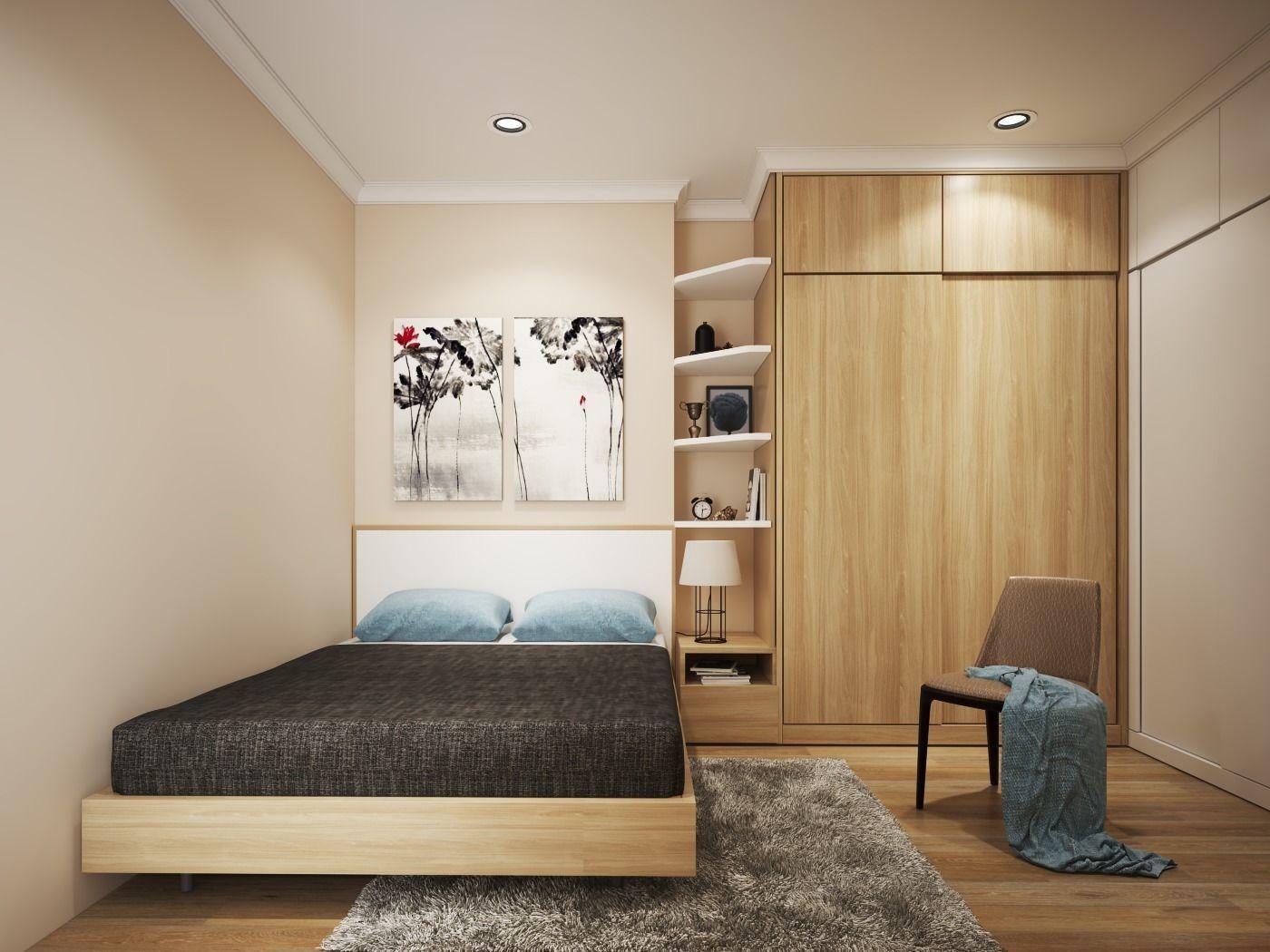 Simple Bedroom V 3D | CGTrader on New Model Bedroom  id=62238