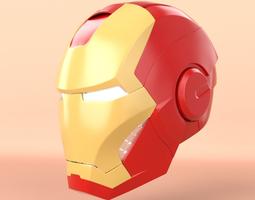 Iron Man Head 3D