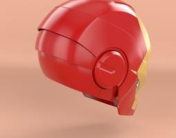 Iron Man Head 3D Model