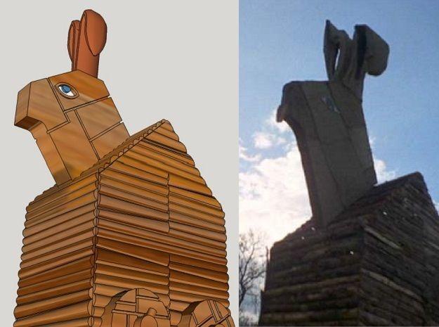 Trojan Rabbit Dice Tower