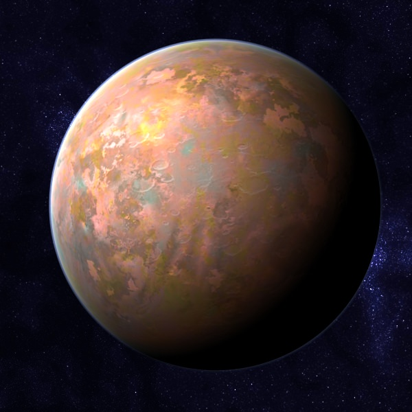 rocky planet class h planet 3D Models - CGTrader.com