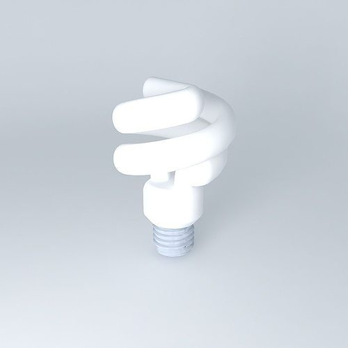 3d model cfl light delux hdl in the style of, against-robbed cf