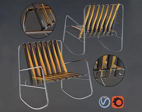3D model Gandia Blasco Armchair Tube