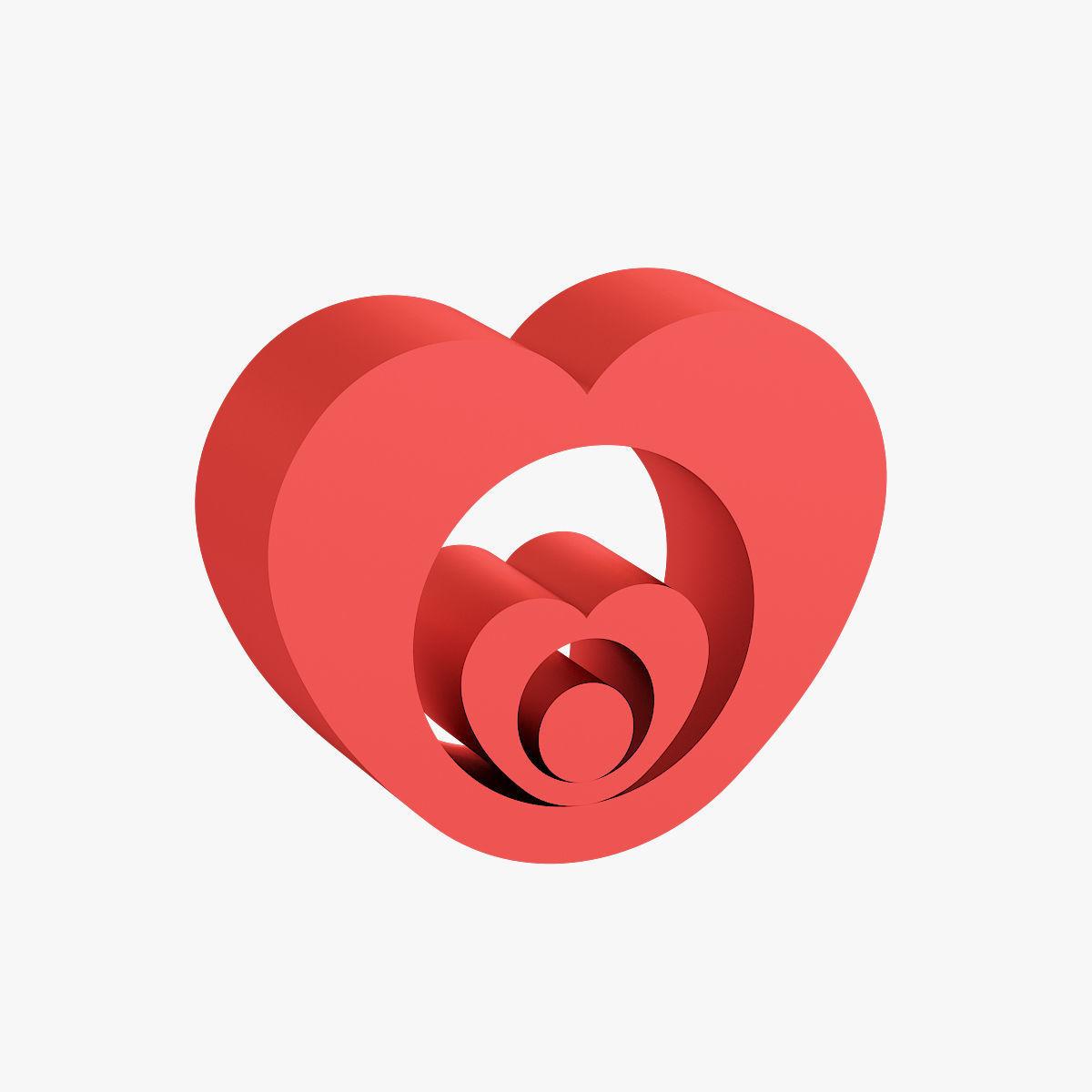 Heart shaped figurine