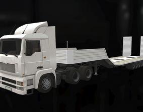 3D asset Truck carrier