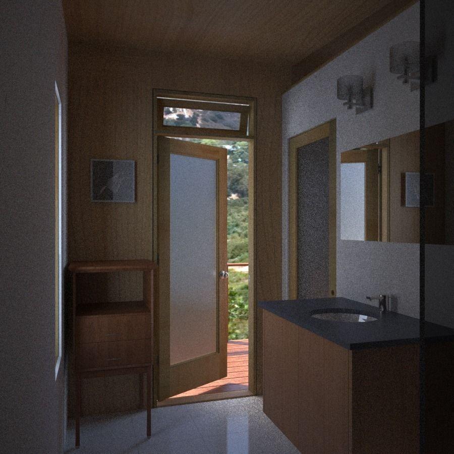 Bathroom Storage Cabinet 3d Model Obj 3dm