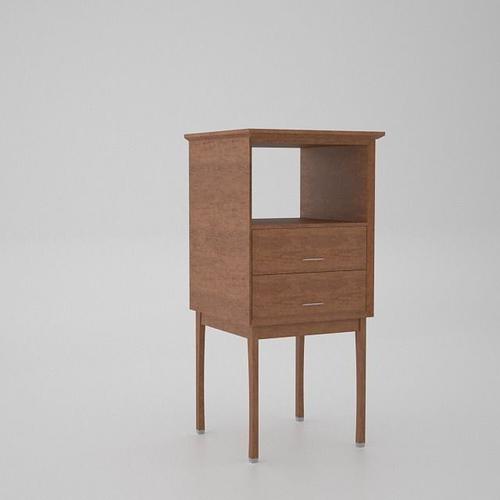 Bathroom Storage Cabinet 3d Model Cgtrader