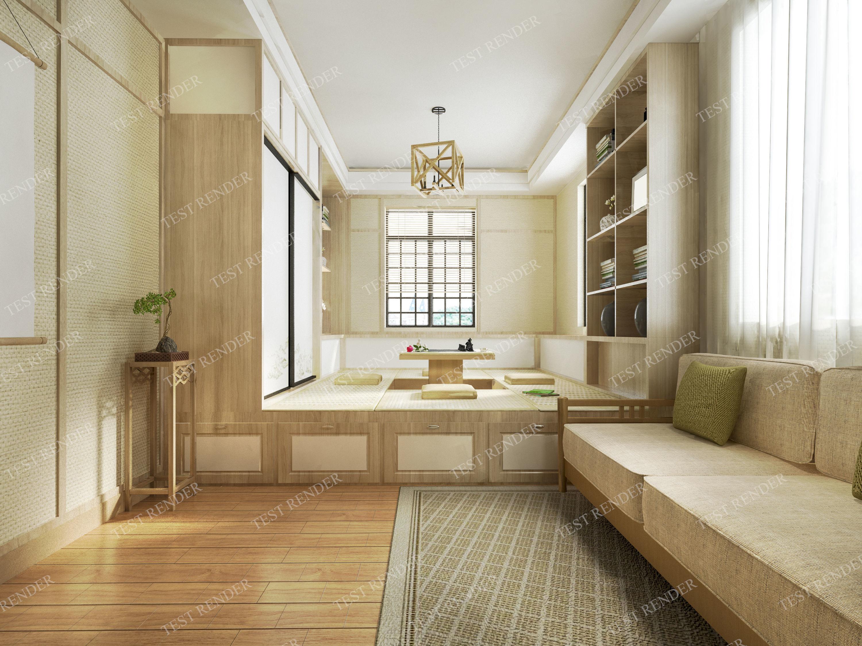 Japanese living room style | 3D model