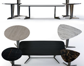 Molteni Attico Tables 3D model