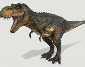 3D asset VR / AR ready Tyrannosaurus