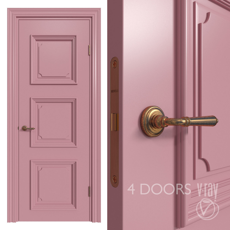 Internal door Academy Navarra 4 doors 2