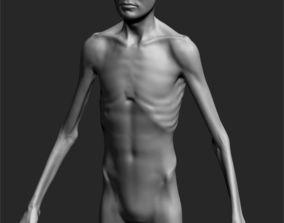 3D model Male Basemesh ZBRUSH 01