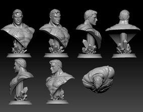 Superman Bust - Alex Ross 3D print model