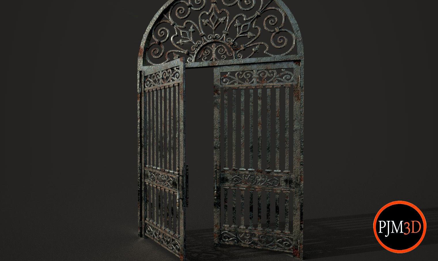 Old Gate-01A V001