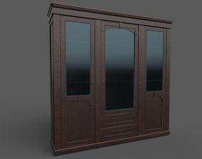 Bookcase old 3D