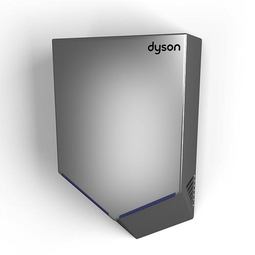 dyson airblade v 3d cgtrader. Black Bedroom Furniture Sets. Home Design Ideas