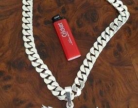 3D model chain link
