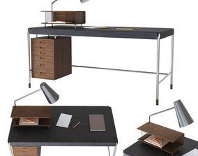 3D model Society Table Carl Hansen Son