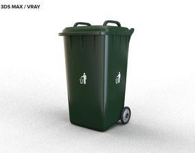 container 3D model TRASH BIN