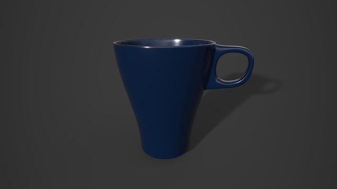 ikea mug - fargrik 3d model obj mtl fbx ma mb stl 1