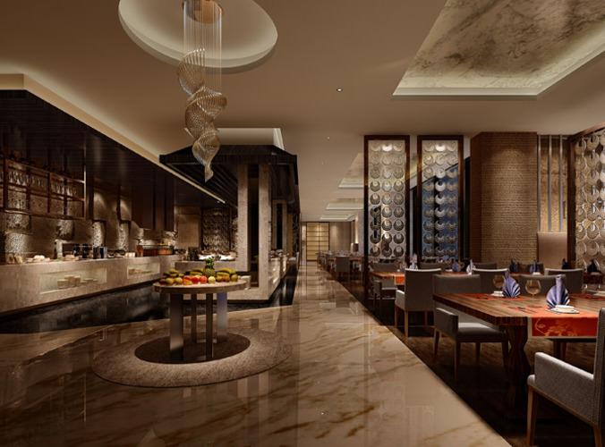 3d restaurant interior cgtrader for 3d restaurant design software