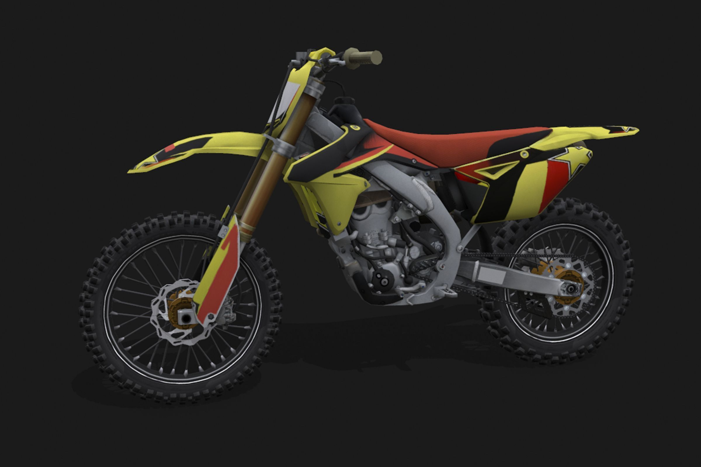 Motocross Motorcycles | 3D Model Collection