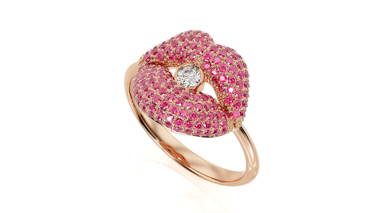 Kiss Ring SR 0001