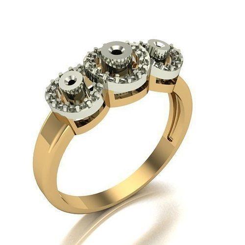 woman ring 3d model stl 3dm 1