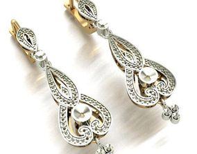 3D printable model WOMEN EARRINGS jewelry