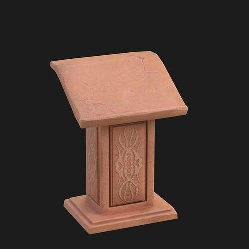 pulpit 3 3d model max obj mtl fbx 1