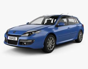 Renault Laguna grandtour 2010 3D model
