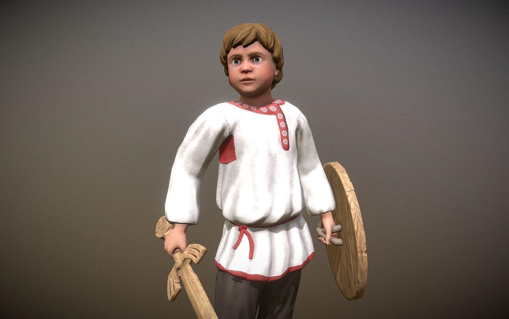 Peasant Villager Boy